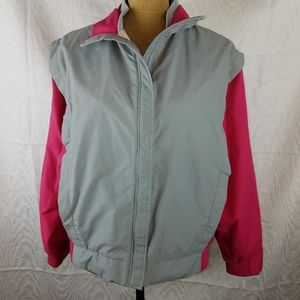 Forrester's Gore-tex gray and pink jacket sz L